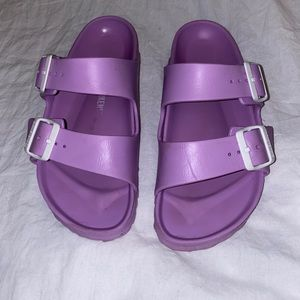 Birkenstocks Eva sandals Purple sz 38
